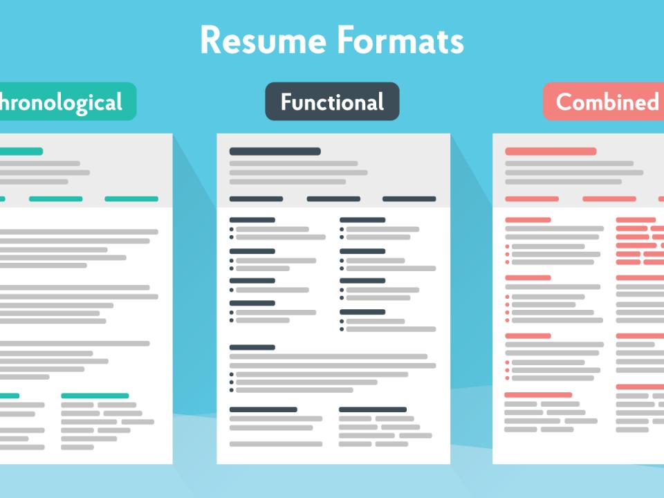best-resume-formats